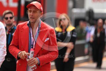 World © Octane Photographic Ltd. Formula 1 - Monaco GP. Practice 3. Lapo Elkann. Monte-Carlo, Monaco. Saturday 25th May 2019.
