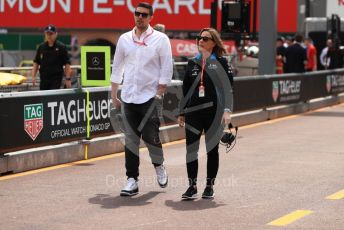 World © Octane Photographic Ltd. Formula 1 - Monaco GP. Practice 3. Claire Williams - Deputy Team Principal of ROKiT Williams Racing. Monte-Carlo, Monaco. Saturday 25th May 2019.