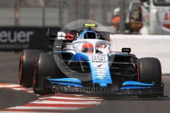 World © Octane Photographic Ltd. Formula 1 – Monaco GP. Qualifying. ROKiT Williams Racing FW42 – Robert Kubica. Monte-Carlo, Monaco. Saturday 25th May 2019.