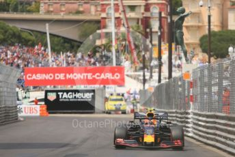 World © Octane Photographic Ltd. Formula 1 – Monaco GP. Qualifying. Aston Martin Red Bull Racing RB15 – Pierre Gasly. Monte-Carlo, Monaco. Saturday 25th May 2019.