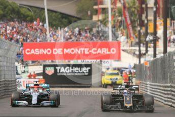 World © Octane Photographic Ltd. Formula 1 – Monaco GP. Qualifying. Rich Energy Haas F1 Team VF19 – Romain Grosjean. Monte-Carlo, Monaco. Saturday 25th May 2019.