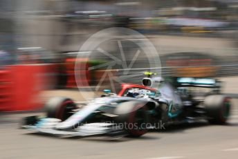 World © Octane Photographic Ltd. Formula 1 – Monaco GP. Qualifying. Mercedes AMG Petronas Motorsport AMG F1 W10 EQ Power+ - Valtteri Bottas. Monte-Carlo, Monaco. Saturday 25th May 2019.