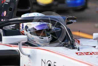 World © Octane Photographic Ltd. FIA Formula 2 (F2) – Monaco GP - Practice. Sauber Junior Team - Juan Manuel Correa.  Monte-Carlo, Monaco. Thursday 23rd May 2019.