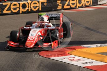 World © Octane Photographic Ltd. FIA Formula 2 (F2) – Monaco GP - Practice. Prema Racing - Sean Gelael. Monte-Carlo, Monaco. Thursday 23rd May 2019.