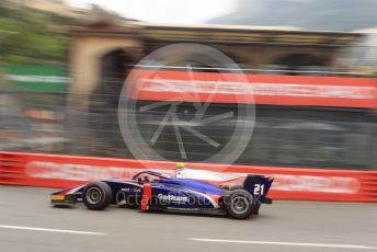 World © Octane Photographic Ltd. FIA Formula 2 (F2) – Monaco GP - Qualifying. Trident - Ralph Boschung. Monte-Carlo, Monaco. Thursday 23rd May 2019.