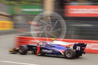 World © Octane Photographic Ltd. FIA Formula 2 (F2) – Monaco GP - Qualifying. Trident - Ralph Boschung. Monte-Carlo, Monaco. Thursday 23rd May 2019.