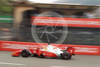 World © Octane Photographic Ltd. FIA Formula 2 (F2) – Monaco GP - Qualifying. Prema Racing – Mick Schumacher. Monte-Carlo, Monaco. Thursday 23rd May 2019.