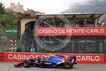 World © Octane Photographic Ltd. FIA Formula 2 (F2) – Monaco GP - Qualifying. Carlin - Nobuharu Matsushita. Monte-Carlo, Monaco. Thursday 23rd May 2019.