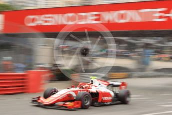 World © Octane Photographic Ltd. FIA Formula 2 (F2) – Monaco GP - Qualifying. Prema Racing - Sean Gelael. Monte-Carlo, Monaco. Thursday 23rd May 2019.