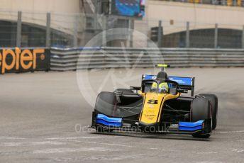 World © Octane Photographic Ltd. FIA Formula 2 (F2) – Monaco GP - Qualifying. Virtuosi Racing - Luca Ghiotto. Monte-Carlo, Monaco. Thursday 23rd May 2019.