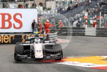 World © Octane Photographic Ltd. FIA Formula 2 (F2) – Monaco GP - Race 1. Sauber Junior Team - Juan Manuel Correa. Monte-Carlo, Monaco. Friday 24th May 2019.