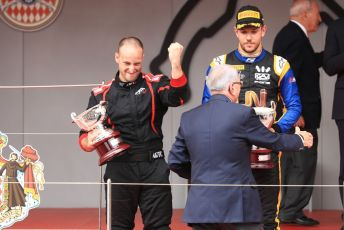 World © Octane Photographic Ltd. FIA Formula 2 (F2) – Monaco GP - Race 1 Podium. ART Grand Prix. Monte-Carlo, Monaco. Friday 24th May 2019.