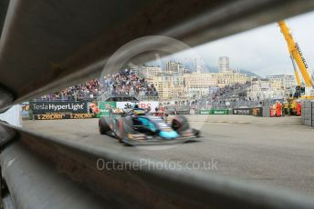 World © Octane Photographic Ltd. FIA Formula 2 (F2) – Monaco GP - Race 1. DAMS - Sergio Sette Camara. Monte-Carlo, Monaco. Friday 24th May 2019.