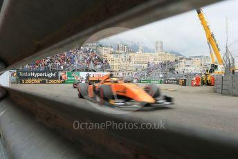 World © Octane Photographic Ltd. FIA Formula 2 (F2) – Monaco GP - Race 1. Campos Racing - Dorian Boccolacci. Monte-Carlo, Monaco. Friday 24th May 2019.