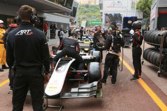 World © Octane Photographic Ltd. FIA Formula 2 (F2) – Monaco GP - Race 1. ART Grand Prix - Nyck de Vries. Monte-Carlo, Monaco. Friday 24th May 2019.
