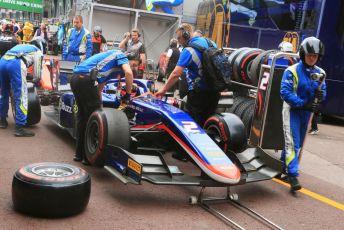 World © Octane Photographic Ltd. FIA Formula 2 (F2) – Monaco GP - Race 1. Carlin - Nobuharu Matsushita. Monte-Carlo, Monaco. Friday 24th May 2019.