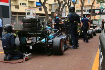 World © Octane Photographic Ltd. FIA Formula 2 (F2) – Monaco GP - Race 1. DAMS - Sergio Sette Camara. Monte-Carlo, Monaco. Friday 24th May 2019.