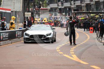 World © Octane Photographic Ltd. FIA Formula 2 (F2) – Monaco GP - Race 1. Mercedes AMG GT Safety Car. Monte-Carlo, Monaco. Friday 24th May 2019.