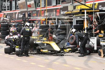 World © Octane Photographic Ltd. FIA Formula 2 (F2) – Monaco GP - Race 1. Virtuosi Racing - Guanyu Zhou. Monte-Carlo, Monaco. Friday 24th May 2019.