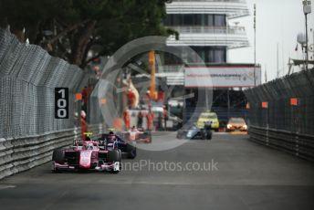 World © Octane Photographic Ltd. FIA Formula 2 (F2) – Monaco GP - Race 1. BWT Arden - Anthoine Hubert. Monte-Carlo, Monaco. Friday 24th May 2019.