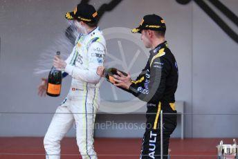 World © Octane Photographic Ltd. FIA Formula 2 (F2) – Monaco GP - Race 2. BWT Arden - Anthoine Hubert and Carlin - Louis Deletraz. Monte-Carlo, Monaco. Saturday 25th May 2019.