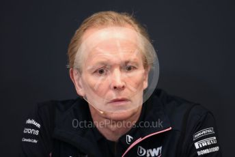 World © Octane Photographic Ltd. Formula 1 - Monaco GP. Thursday FIA Team Press Conference. Andy Stevenson – Sporting Director at SportPesa Racing Point. Monte-Carlo, Monaco. Thursday 23rd May 2019.