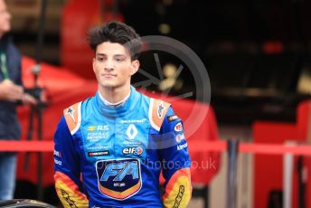 World © Octane Photographic Ltd. Formula Renault Eurocup – Monaco GP - Qualifying. FA Racing by Drivex - Brad Benavides. Monte-Carlo, Monaco. Friday 24th May 2019.