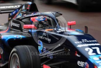 World © Octane Photographic Ltd. Formula Renault Eurocup – Monaco GP - Qualifying. JD Motorsport - Ugo de Wilde. Monte-Carlo, Monaco. Friday 24th May 2019.