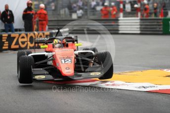 World © Octane Photographic Ltd. Formula Renault Eurocup – Monaco GP - Qualifying. MP Motorsport - Lorenzo Colombo. Monte-Carlo, Monaco. Friday 24th May 2019.