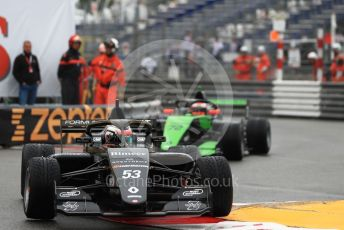 World © Octane Photographic Ltd. Formula Renault Eurocup – Monaco GP - Qualifying. Bhaitecj - Petr Ptacek and GRS – Xavier Lloveras. Monte-Carlo, Monaco. Friday 24th May 2019.