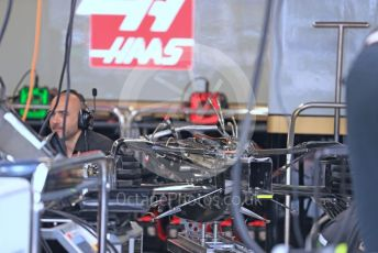 World © Octane Photographic Ltd. Formula 1 – Monaco GP. Pitlane. Rich Energy Haas F1 Team VF19. Monte-Carlo, Monaco. Friday 24th May 2019.