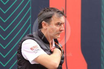 World © Octane Photographic Ltd. Formula 1 - Monaco GP. Paddock. James Key – Technical Director McLaren. Monte-Carlo, Monaco. Sunday 26th May 2019.