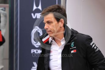 World © Octane Photographic Ltd. Formula 1 - Monaco GP. Paddock. Toto Wolff - Executive Director & Head of Mercedes - Benz Motorsport. Monte-Carlo, Monaco. Sunday 26th May 2019.