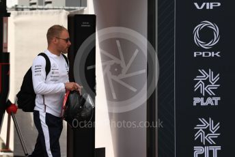 World © Octane Photographic Ltd. Formula 1 – Monaco GP. Paddock. Mercedes AMG Petronas Motorsport AMG F1 W10 EQ Power+ - Valtteri Bottas. Monte-Carlo, Monaco. Thursday 23rd May 2019.