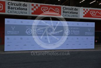 World © Octane Photographic Ltd. Formula 1 – Winter Testing - Test 1 - Day 1. Rich Energy Haas F1 Team VF19 Launch. Circuit de Barcelona-Catalunya. Monday 18th February 2019.