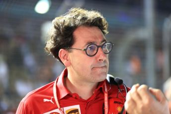 World © Octane Photographic Ltd. Formula 1 - Singapore GP - Grid. Mattia Binotto – Team Principal of Scuderia Ferrari. Marina Bay Street Circuit, Singapore. Sunday 22nd September 2019.