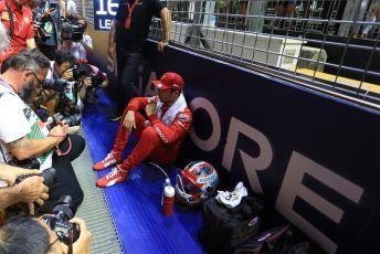 World © Octane Photographic Ltd. Formula 1 – Singapore GP - Grid. Scuderia Ferrari SF90 – Charles Leclerc. Marina Bay Street Circuit, Singapore. Sunday 22nd September 2019.