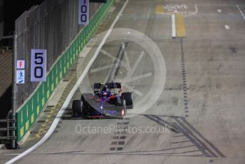 World © Octane Photographic Ltd. Formula 1 – Singapore GP - Practice 2. Scuderia Toro Rosso - Pierre Gasly. Marina Bay Street Circuit, Singapore. Friday 20th September 2019.