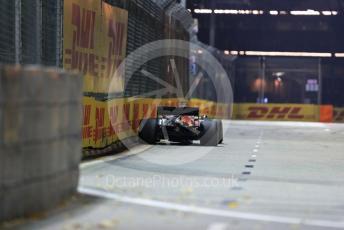 World © Octane Photographic Ltd. Formula 1 – Singapore GP - Practice 2. Aston Martin Red Bull Racing RB15 – Max Verstappen. Marina Bay Street Circuit, Singapore. Friday 20th September 2019.