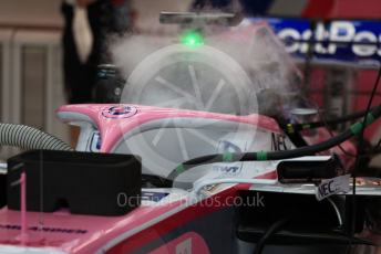 World © Octane Photographic Ltd. Formula 1 – Singapore GP - Practice 3. SportPesa Racing Point RP19 - Sergio Perez. Marina Bay Street Circuit, Singapore. Saturday 21st September 2019.