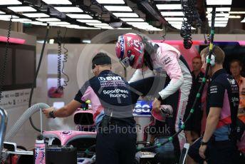 World © Octane Photographic Ltd. Formula 1 – Singapore GP - Practice 3. SportPesa Racing Point RP19 – Lance Stroll. Marina Bay Street Circuit, Singapore. Saturday 21st September 2019.