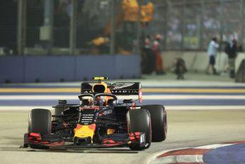 World © Octane Photographic Ltd. Formula 1 – Singapore GP - Race. Aston Martin Red Bull Racing RB15 – Alexander Albon. Marina Bay Street Circuit, Singapore. Sunday 22nd September 2019.