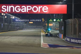 World © Octane Photographic Ltd. Formula 1 – Singapore GP - Race. ROKiT Williams Racing FW 42 – George Russell. Marina Bay Street Circuit, Singapore. Sunday 22nd September 2019.