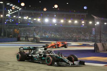 World © Octane Photographic Ltd. Formula 1 – Singapore GP - Race. Mercedes AMG Petronas Motorsport AMG F1 W10 EQ Power+ - Lewis Hamilton. Marina Bay Street Circuit, Singapore. Sunday 22nd September 2019.