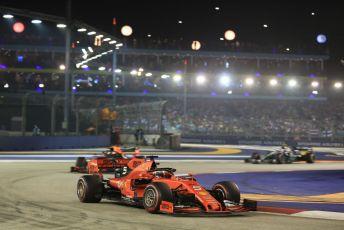 World © Octane Photographic Ltd. Formula 1 – Singapore GP - Race. Scuderia Ferrari SF90 – Sebastian Vettel. Marina Bay Street Circuit, Singapore. Sunday 22nd September 2019.