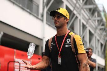 World © Octane Photographic Ltd. Formula 1 – Singapore GP - Paddock. Renault Sport F1 Team RS19 – Daniel Ricciardo. Marina Bay Street Circuit, Singapore. Friday 20th September 2019.