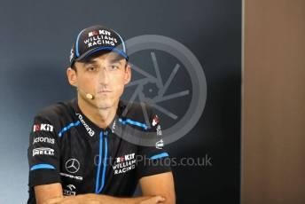 World © Octane Photographic Ltd. Formula 1 – Singapore GP. FIA Drivers Press Conference. ROKiT Williams Racing – Robert Kubica. Marina Bay Street Circuit, Singapore. Thursday 19th September 2019.