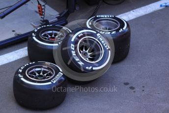 World © Octane Photographic Ltd. Formula 1 – Spanish In-season testing. Aston Martin Red Bull Racing RB15 wheels and tyres. Circuit de Barcelona Catalunya, Spain. Tuesday 14th May 2019.
