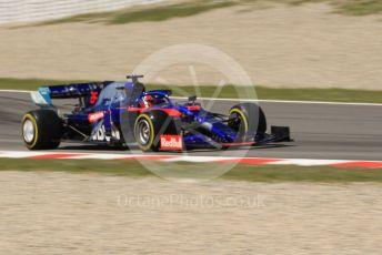 World © Octane Photographic Ltd. Formula 1 – Spanish In-season testing. Scuderia Toro Rosso STR14 – Daniil Kvyat. Circuit de Barcelona Catalunya, Spain. Tuesday 14th May 2019.