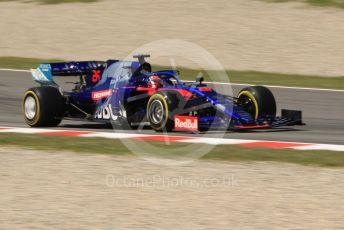 World © Octane Photographic Ltd. Formula 1 – Spanish In-season testing. Scuderia Toro Rosso STR14 – Daniil Kvyat . Circuit de Barcelona Catalunya, Spain. Tuesday 14th May 2019.
